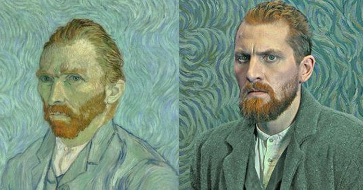 Watch Actors Turn Into Vincent Van Gogh S Paintings In Loving Vincent