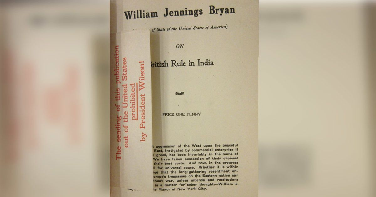 Photos: A book on British rule in India, banned and held seditious, was still widely translated