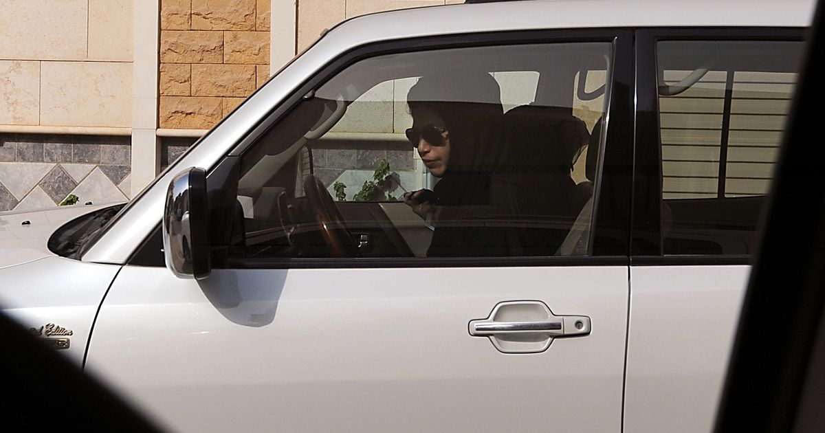 Now, women can drive in Saudi Arabia