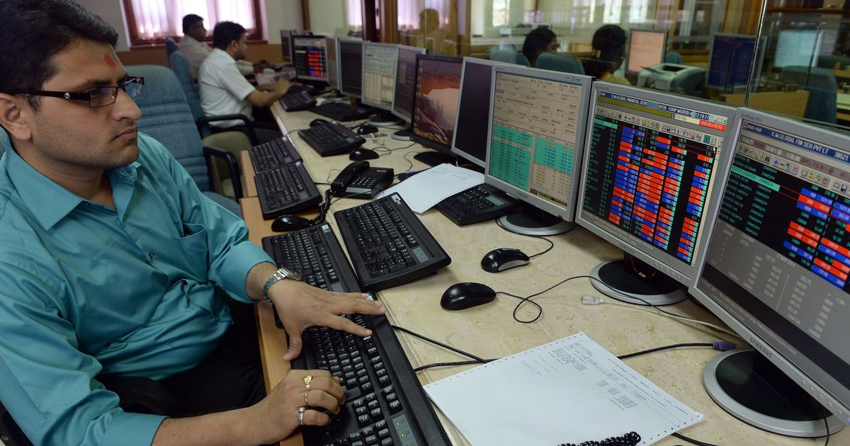 Market continues its sluggish trend, Sensex ends over 430 points lower, Nifty below 9,800 mark