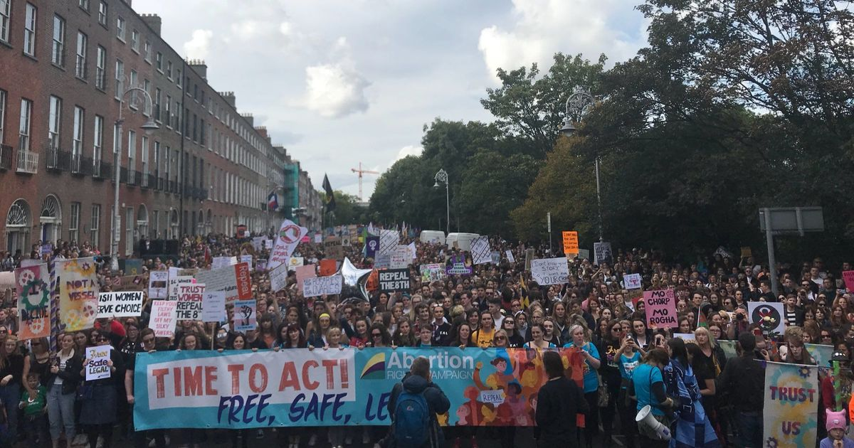 Ireland: Thousands march in Dublin against law banning abortion