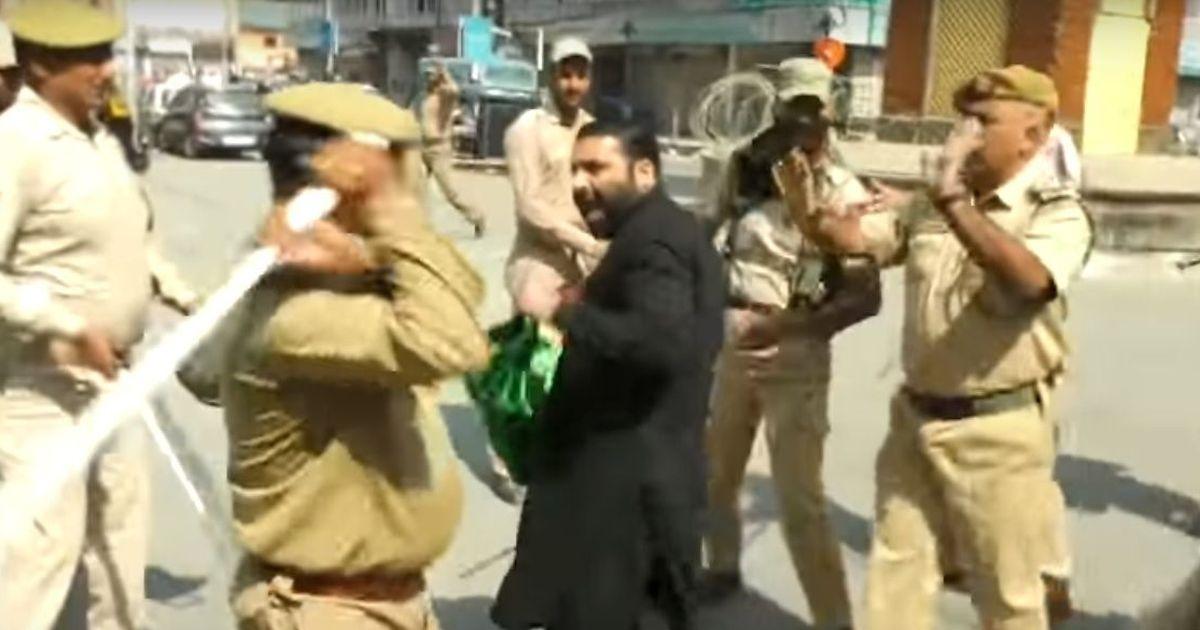 Srinagar: Police baton-charge mourners on Muharram, detain some