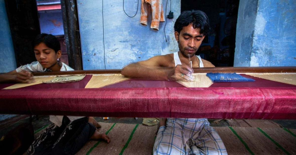 'No hope of recovery': Varanasi sari weavers are abandoning their looms as GST rips business by 50%