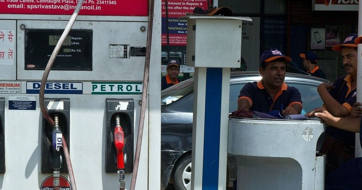 Centre lowers basic excise duty on petrol, diesel by Rs 2 per litre
