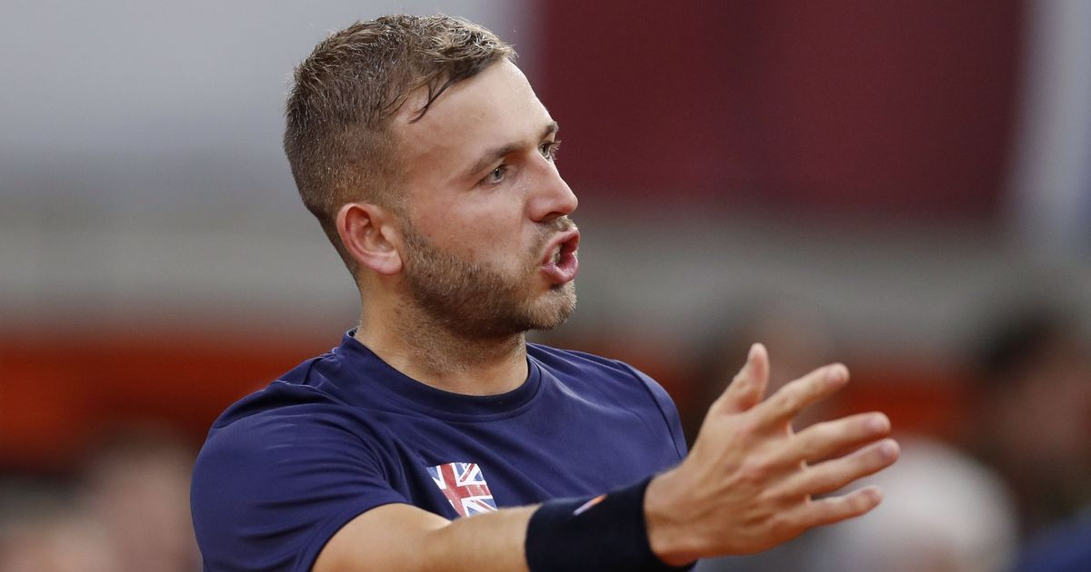 British tennis player Dan Evans given one-year ban after positive cocaine test