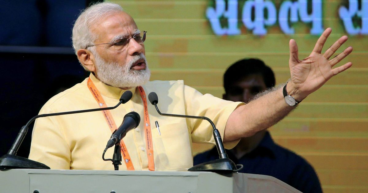 This is not the first time India's GDP growth has dropped to 5.7%, says Narendra Modi