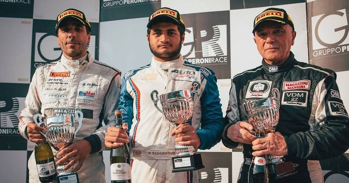 Mahaveer Raghunathan becomes first Indian to win a European racing championship