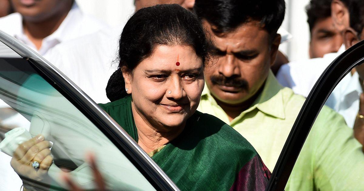 VK Sasikala out on parole as Tamil Nadu BJP demands inquiry into her husband's organ transplant