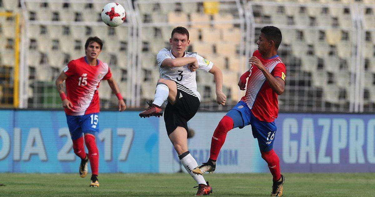 It was close but Germany beat Costa Rica in their U-17 World Cup opener