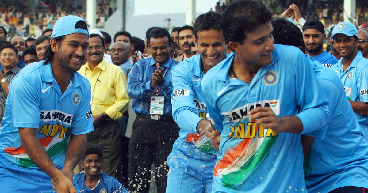 Had Ganguly not promoted Dhoni to No 3, he wouldn't have become such a great player: Sehwag