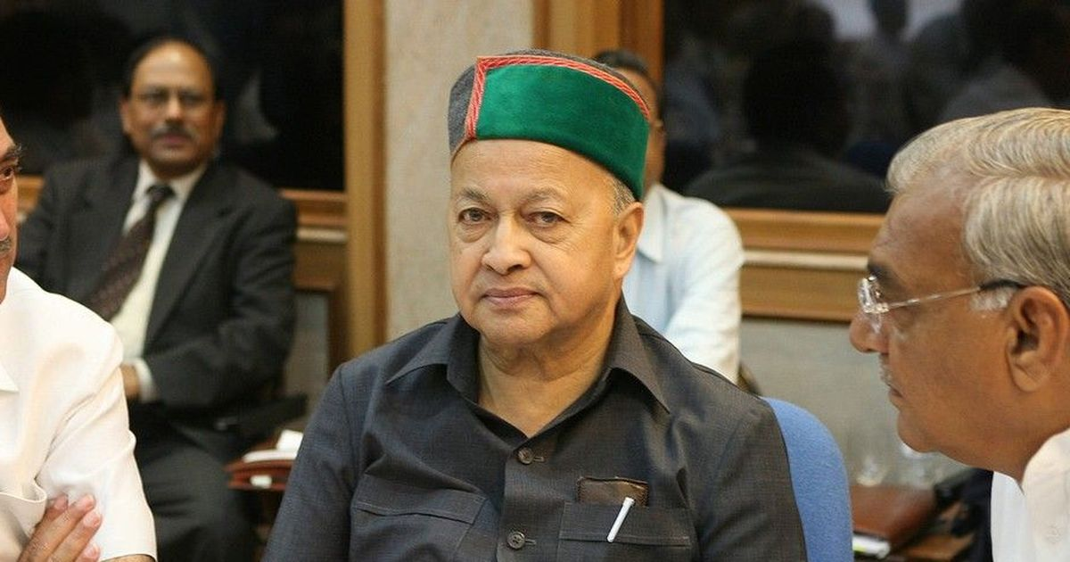 Himachal Pradesh: Virbhadra Singh is Congress' candidate for chief minister