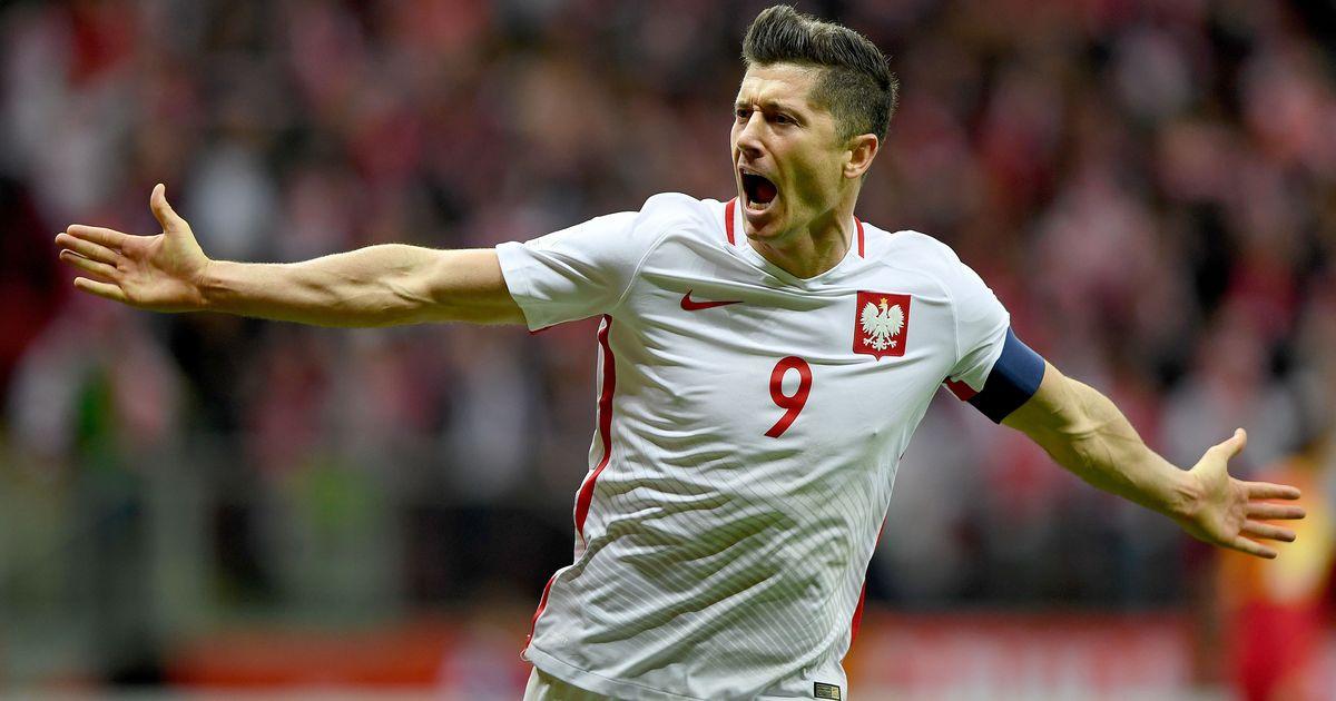 Lewandowski record secures Poland's 2018 World Cup berth, Germany maintain perfect run