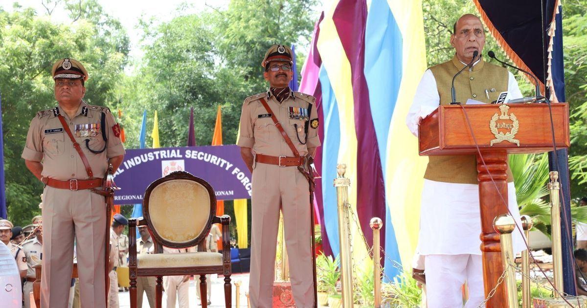 Rajnath Singh says 'anti-India forces' want to weaken the country's economy