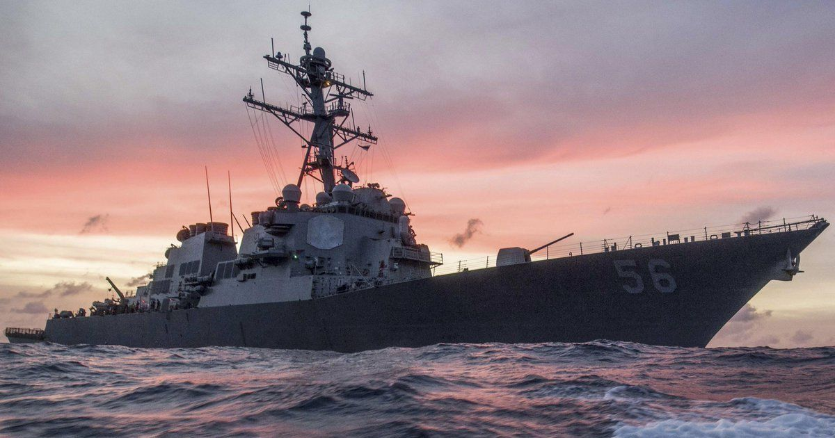 US Navy relieves commander of ship that collided with oil tanker near Singapore in August