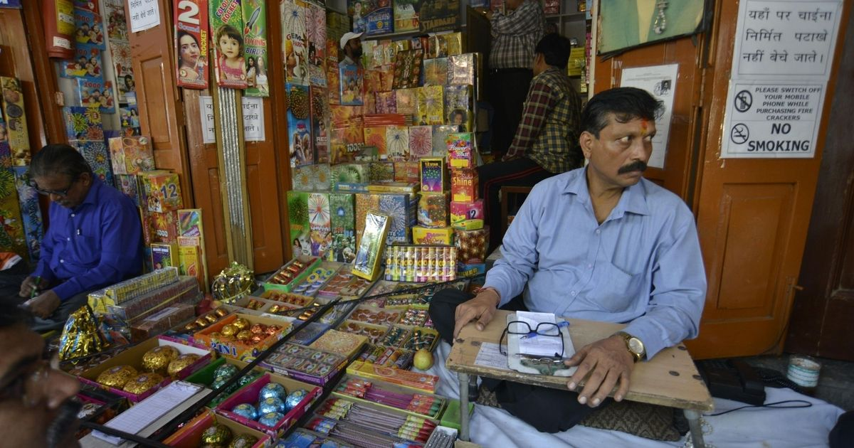 Traders seek relaxation of SC order banning sale of firecrackers in Delhi this Diwali