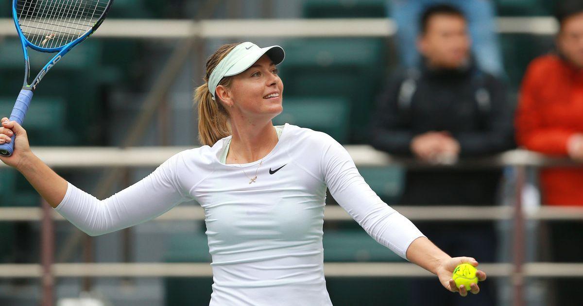 Tianjin Open: Maria Sharapova reaches first final since drugs ban