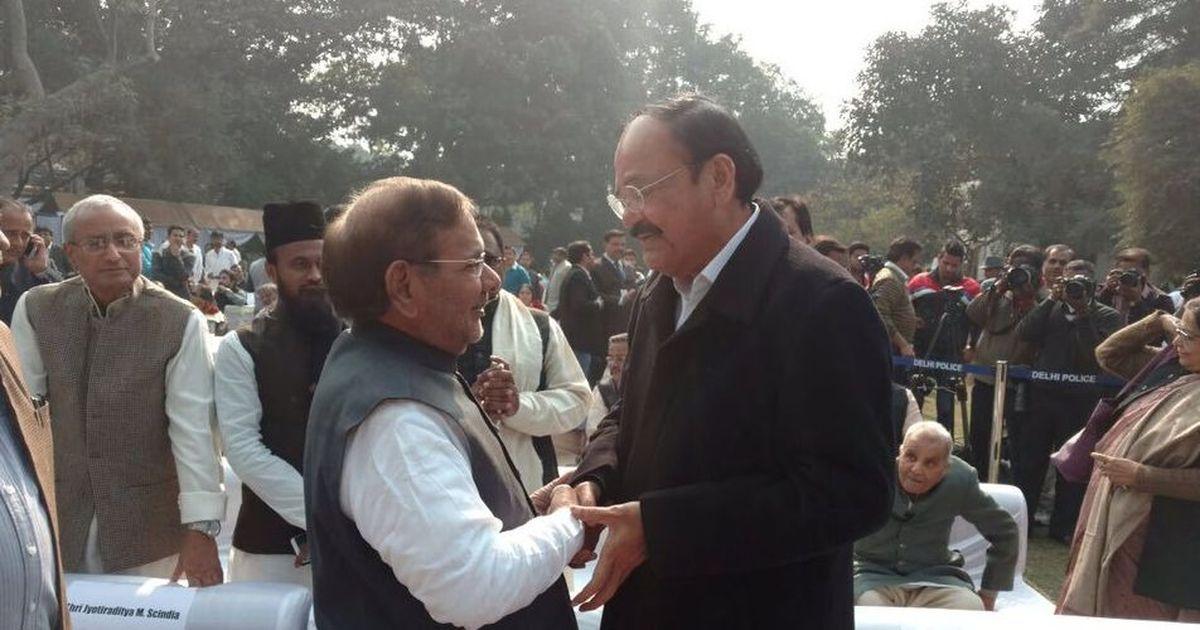 Venkaiah Naidu to decide on disqualification of rebel JD(U) MPs Sharad Yadav, Ali Anwar