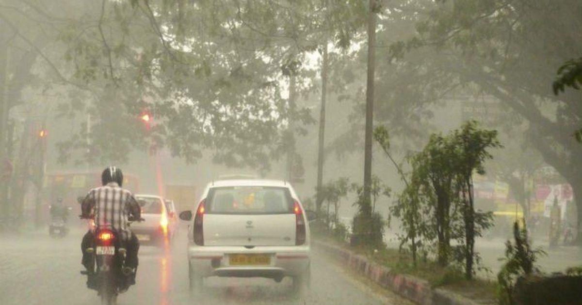 Odisha rain: Heavy rain in odisha