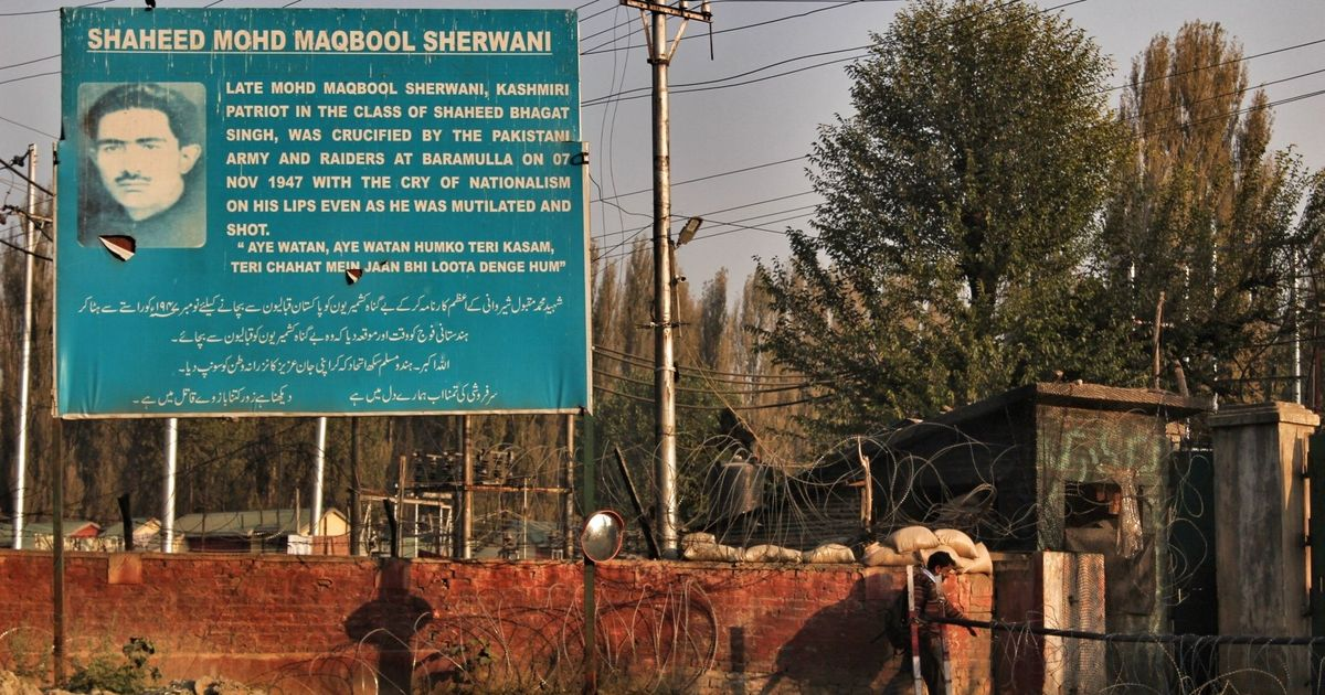 The contested legacies of Maqbool Sherwani, the Kashmiri who stalled invaders in 1947