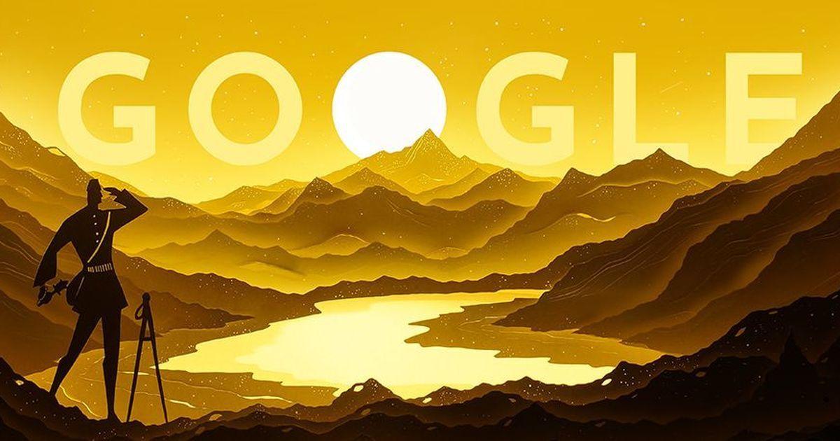 Google doodle marks Indian explorer Nain Singh Rawat's 187th birth anniversary