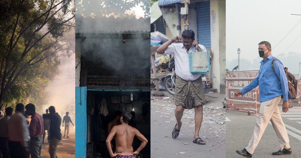 Cities under haze: Diwali photos from Delhi, Chennai, Bengaluru and Kolkata