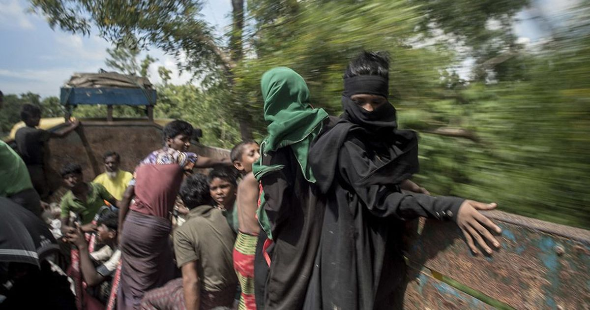 Over six lakh Rohingyas have fled violence in Myanmar since August, says United Nations report