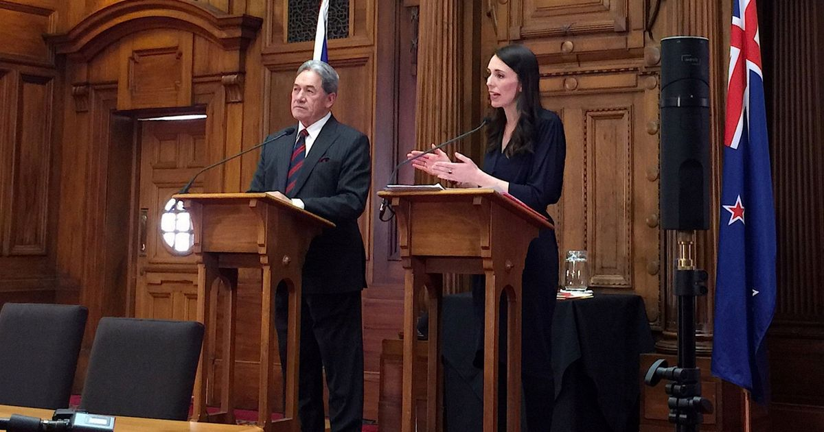 New Zealand Labour Party formally signs coalition deal, Winston Peters to be deputy PM