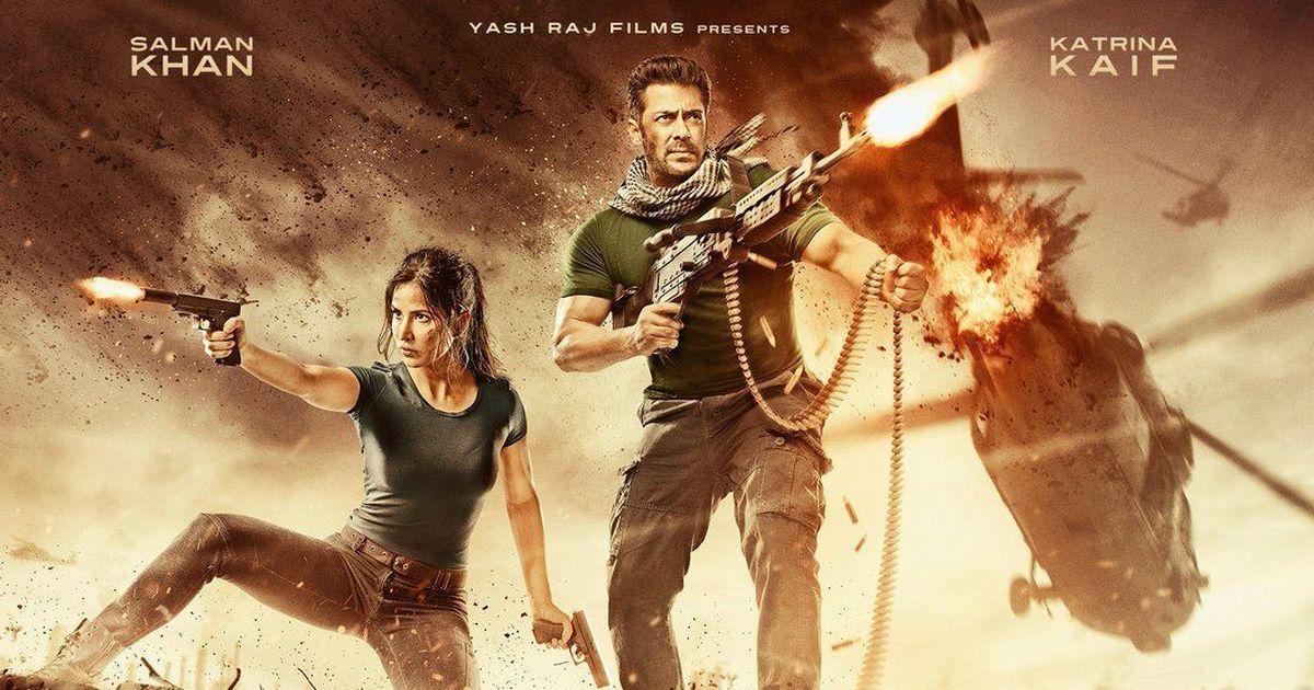 Gun-toting Salman Khan and Katrina Kaif in second poster of 'Tiger Zinda Hai'