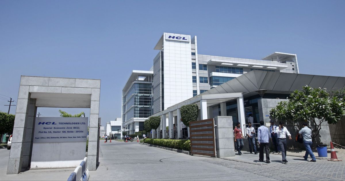 HCL shares fall after company announces second-quarter earnings report