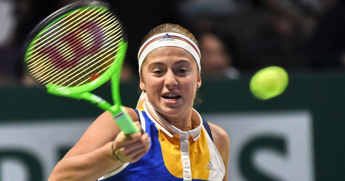 Jelena Ostapenko caps disappointing WTA Finals with inspired win over Karolina Pliskova
