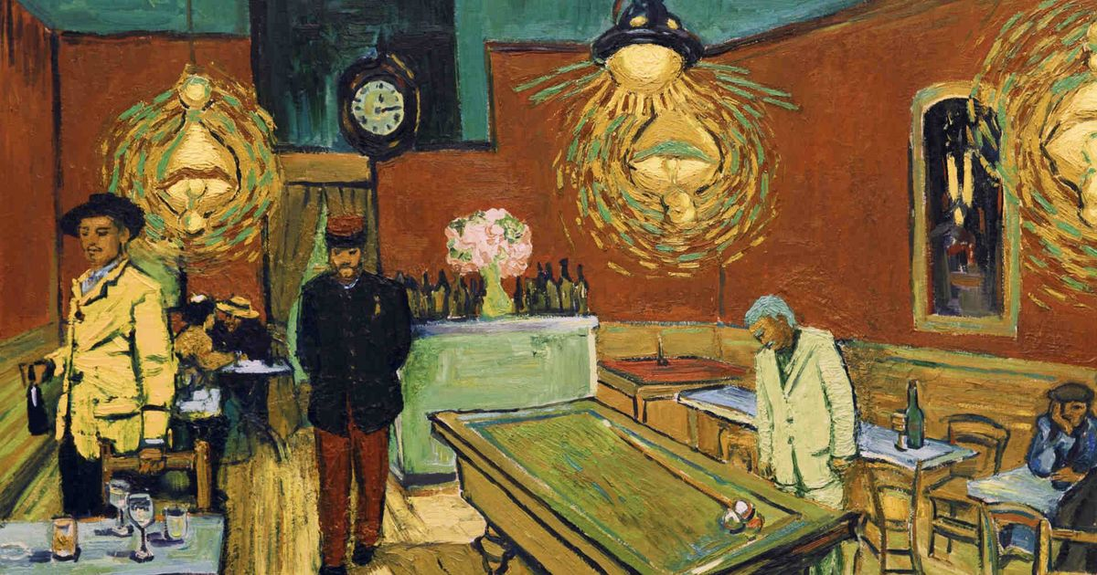 'Loving Vincent' is a visual feast that combines traditional painting with cutting-edge animation