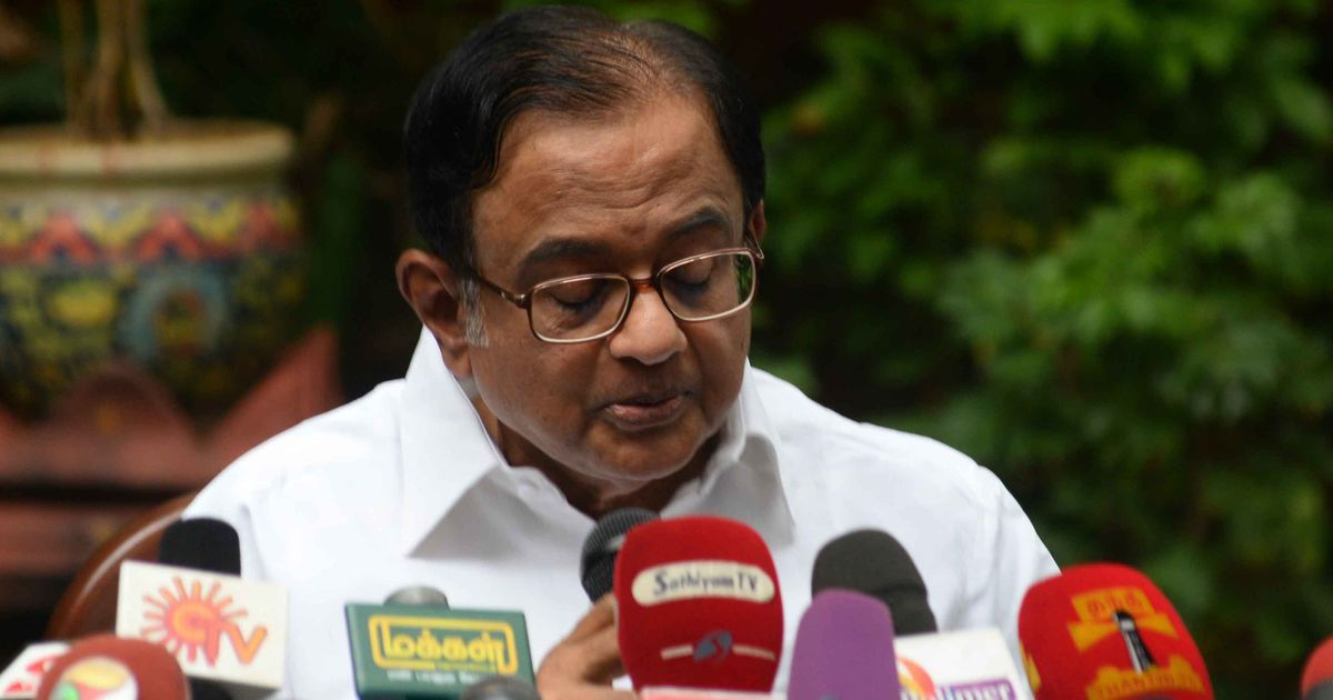 Kashmir: Chidambaram says when people ask for 'azadi', they seek autonomy, BJP criticises comment