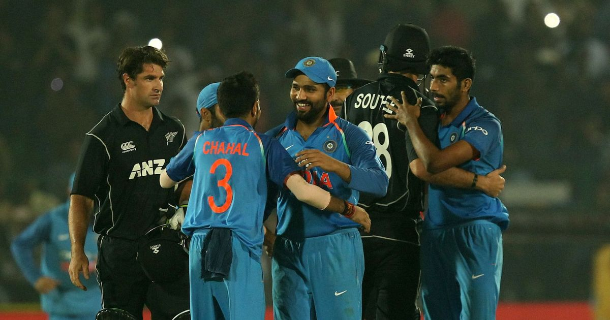 India edge New Zealand out in a thriller in Kanpur for seventh consecutive ODI series win
