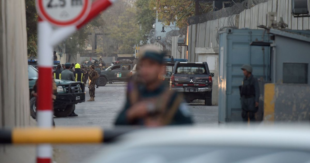 Suicide bomber strikes diplomatic area in Afghanistan's Kabul, many feared dead