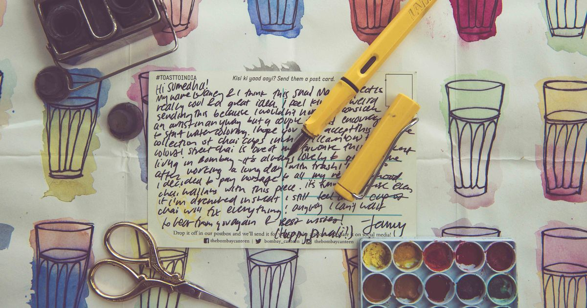 Tired of checking email? The Snail Mail Project brings back the lost art of letter writing