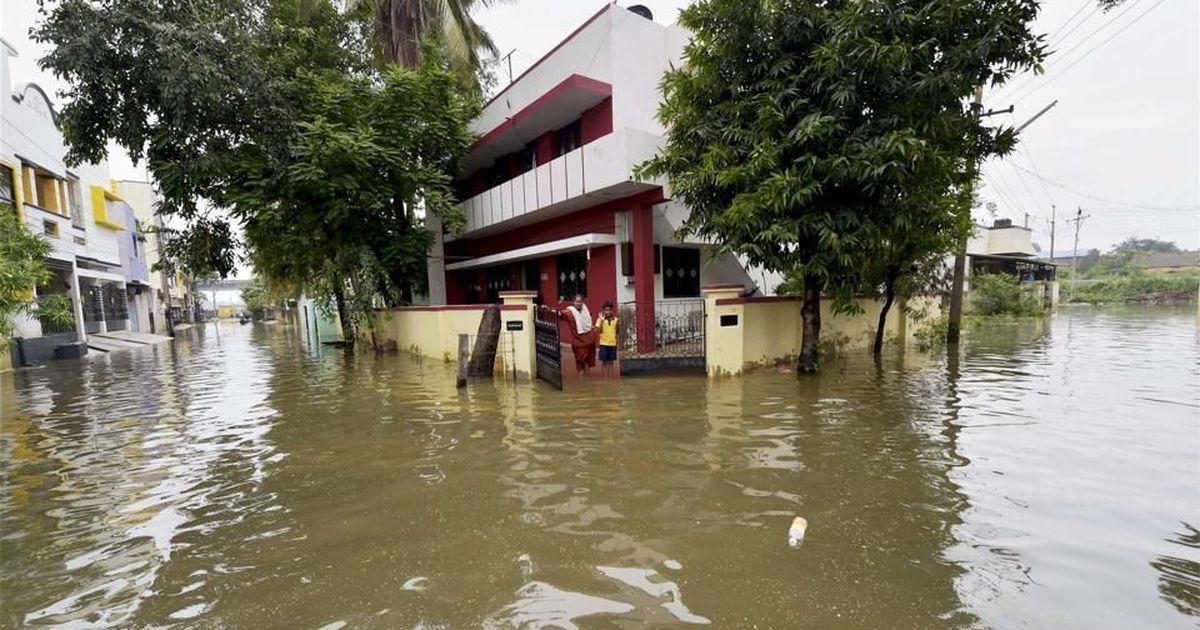 Tamil Nadu: Six dead, schools remain shut as rain continues to lash parts of state