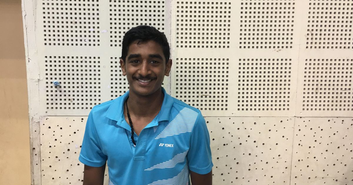 Sai Charan Koya, 15, picked up badminton to increase his height. Today, he almost beat Sai Praneeth