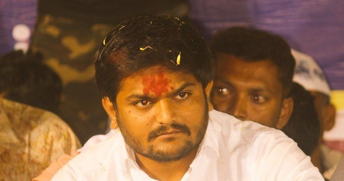 Hardik Patel says he has asked the Patidar community to vote the BJP out of power in Gujarat