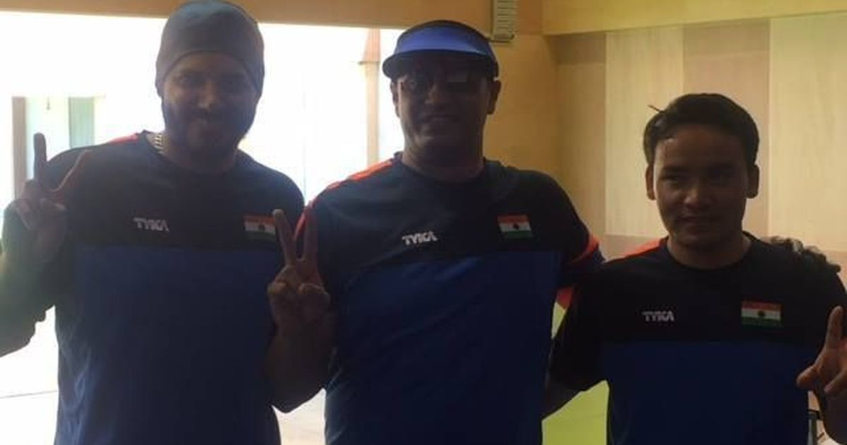 Commonwealth Shooting: PN Prakash, Amanpreet, Jitu Rai give India 50m pistol podium sweep