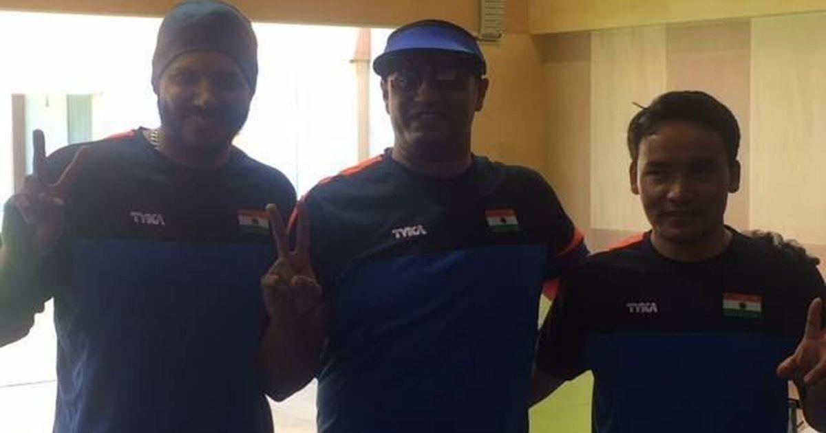 Commonwealth Shooting: PN Prakash, Amanpreet, Jitu Rai give India 50m pistol podium sweep