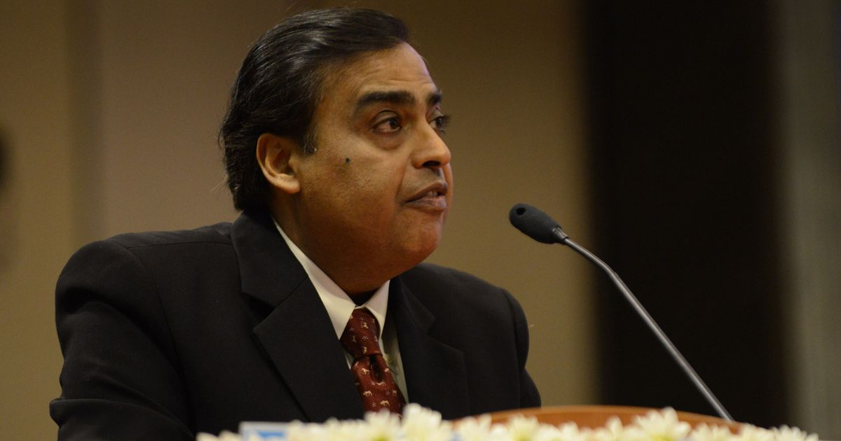 Mukesh Ambani becomes Asia's richest man on Forbes' real-time list of billionaires