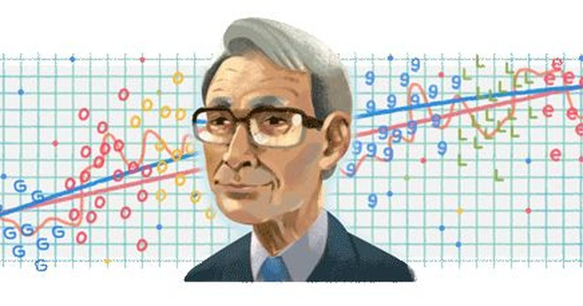 Google marks 90th birth anniversary of Japanese statistician Hirotugu Akaike with a doodle