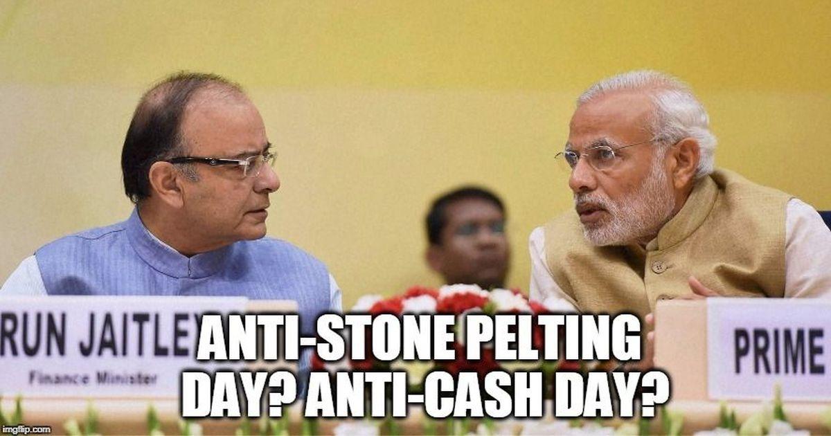 Anti-Cash Day, Anti-Idle Savings Day, Anti-Anti-Modi Day: What should November 8 be called?