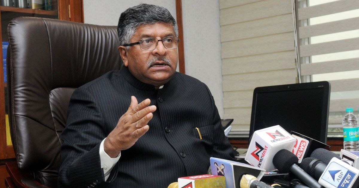 Prostitution has nosedived after demonetisation, says Union minister Ravi Shankar Prasad