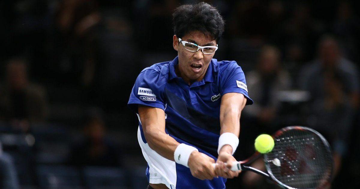 South Korea's Hyeon Chung becomes first semifinalist at Next Gen ATP Finals