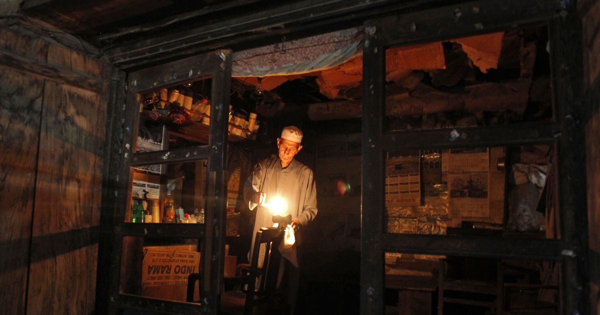 Behind the conspiracy theories: Why Kashmir reels under power cuts every winter