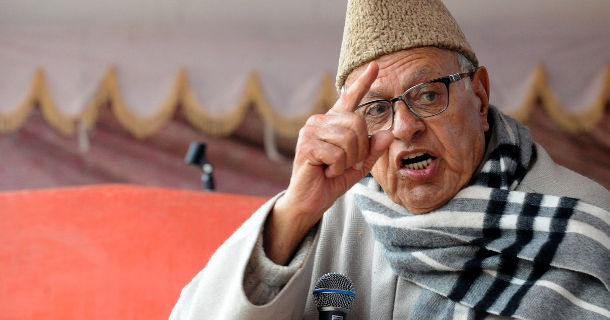 PoK belongs to Pakistan, 'independent Kashmir' does not exist, says Farooq Abdullah