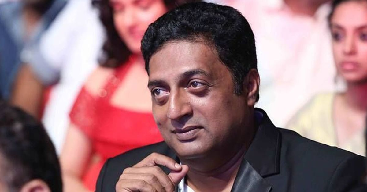 'Actors becoming leaders is a disaster for my country,' says Prakash Raj