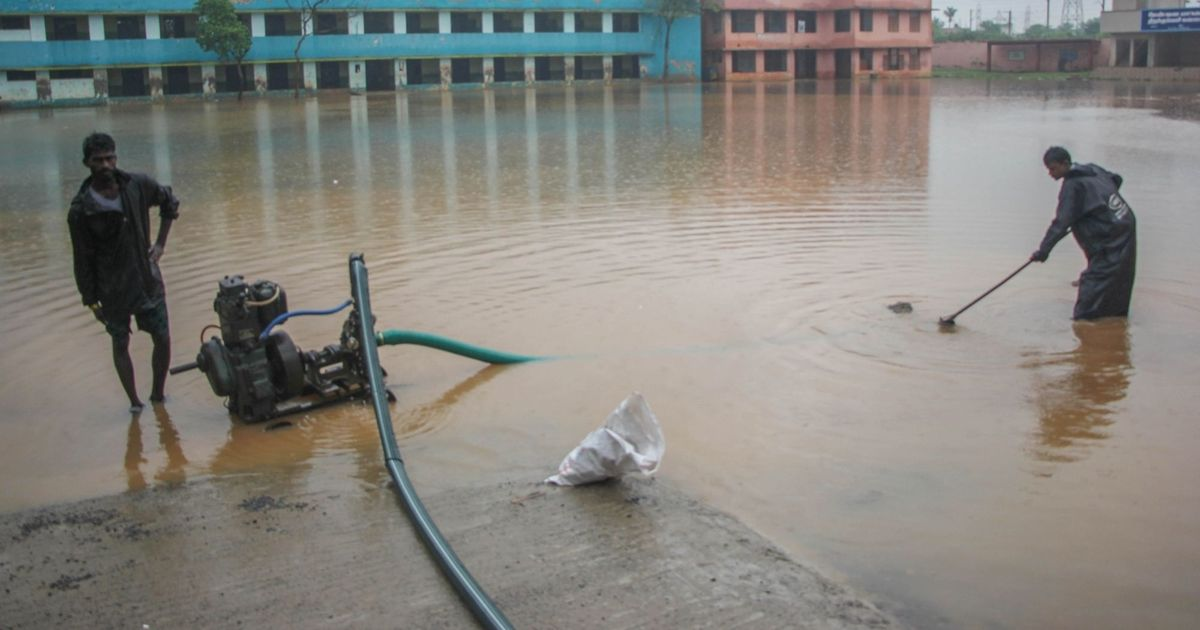 Schools in Chennai to remain shut as Met department warns of heavy rain