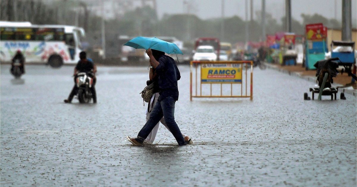 Tamil Nadu: Heavy rain forecast for the next 24 hours in Chennai, neighbouring districts